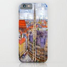 Munich Cityscape iPhone Case
