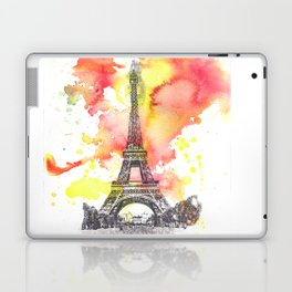 Eiffel Tower in Paris France Laptop & iPad Skin