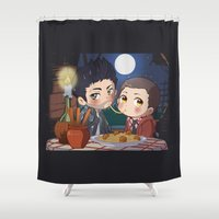 clueless Shower Curtains featuring The Stiles&TheTramp by MGNemesi