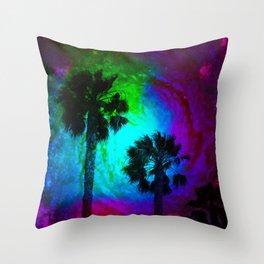 Nebula sky Cali Throw Pillow