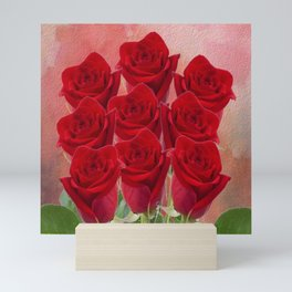 Love - Red Roses Mini Art Print