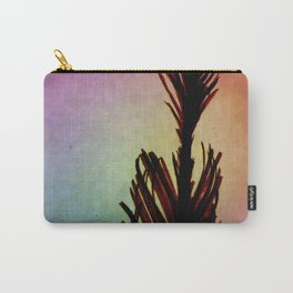 Macro Peacock Feather Carry-All Pouch