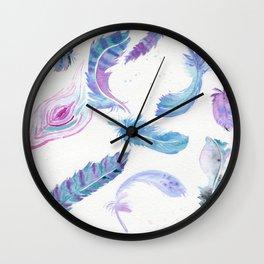 Magic Feathers  Wall Clock