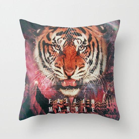 MYSTIC//TIGER Throw Pillow