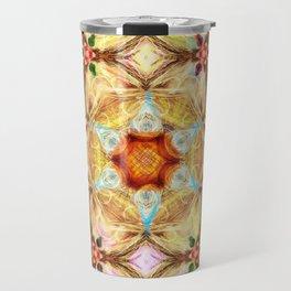 kaleidoscope - releitura de um jardim Travel Mug