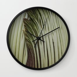 Corpse Flower Wall Clock