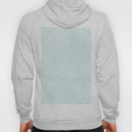 Abstract geometrical teal white triangles pattern Hoody