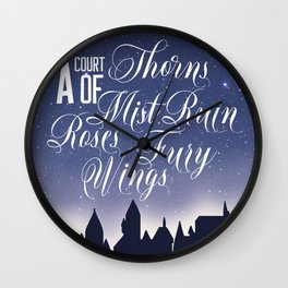 The Courts Wall Clock
