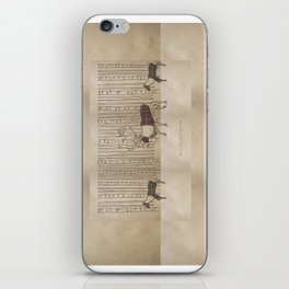 fashion collection f/w brown iPhone Skin
