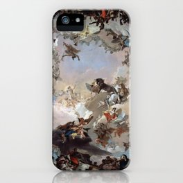Giovanni Battista Tiepolo - Allegory of the Planets and Continents 1752 iPhone Case