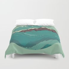 TOPOGRAPHY 004 Duvet Cover