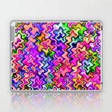 Swirly Twirly Colors Laptop & iPad Skin