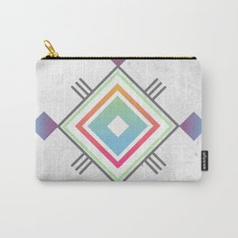 Abstract geometric indigenous symbol Carry-All Pouch