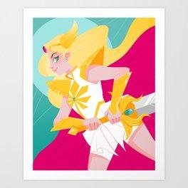 She-Ra is Back Art Print