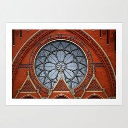Music Hall, Cincinnati Art Print