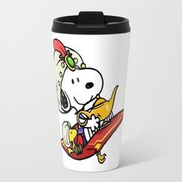 Snoopy Aladin Travel Mug