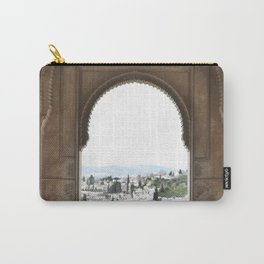 Alhambra Window to Granada Carry-All Pouch