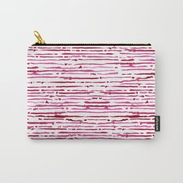SUE . Pink Carry-All Pouch