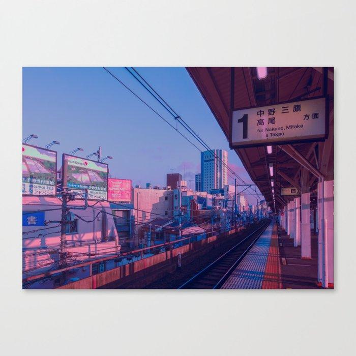 5 AM in Tokyo Leinwanddruck