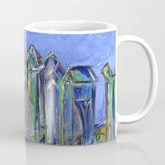 Blue Philadelphia Skyline Mug