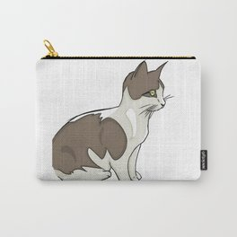 Vigilant Kitty Carry-All Pouch