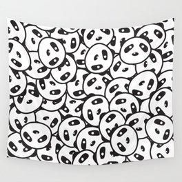 Pandamonium (Patterns Please) Wall Tapestry