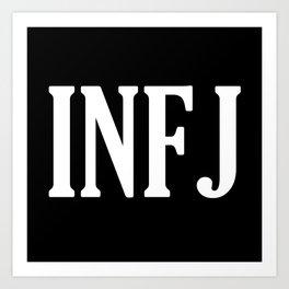 INFJ Art Print