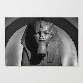 Tutankhamun - Egyptian Statue Canvas Print
