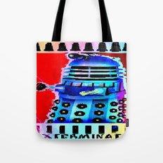 Dalek; Doctor Who; Exterminate Tote Bag