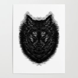 The Wolf by Brian Vegas Poster