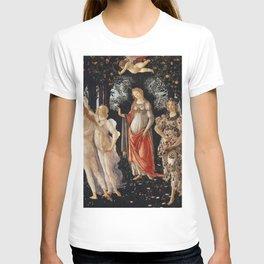 Sandro Botticelli - Spring (La Primavera) T-shirt