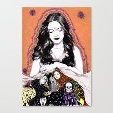INSPIRATION - Muse Canvas Print