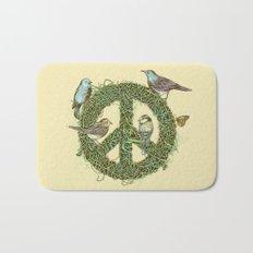 Peace Talks Bath Mat