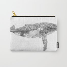 A Humpback Whale Carry-All Pouch