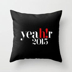 YEAR 2015 Throw Pillow