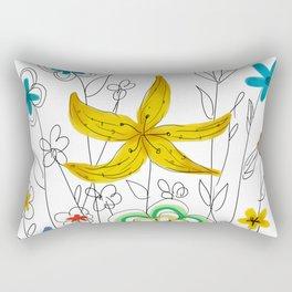 Garden of Friends Rectangular Pillow