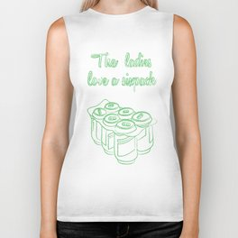 Six Pack of Love Biker Tank