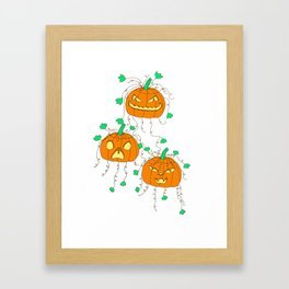 Three Jacks Framed Art Print