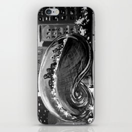 Chicago Bean Painting iPhone Skin