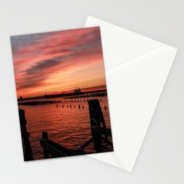 Sunrise & Pilings - Good Morning Stationery Cards