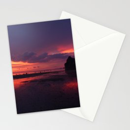 Fire velvet sky Stationery Cards
