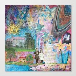 Transcending Time Canvas Print