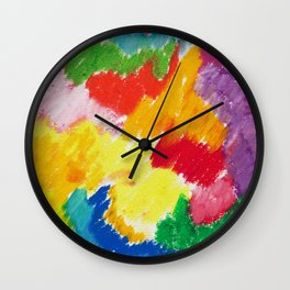 Sunny Abstract 1 Wall Clock