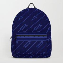 Arrows Flying (Dark Blue) Backpack
