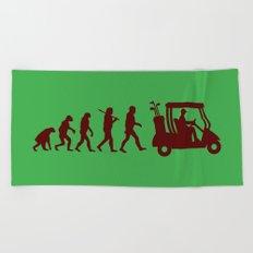 Evolution - golf Beach Towel