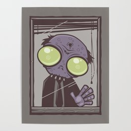 Office Zombie Poster
