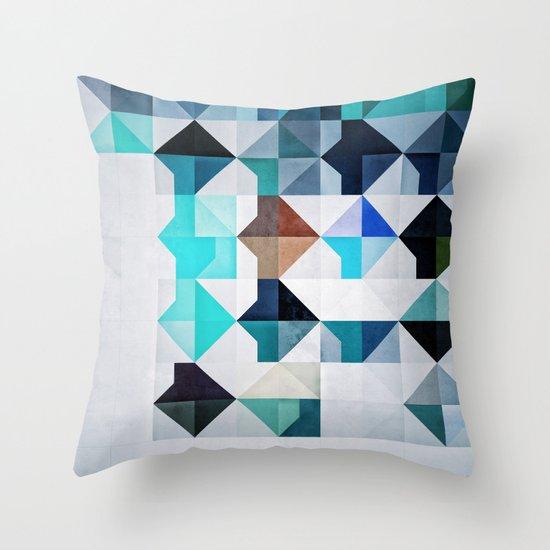 Whyyt1 Throw Pillow