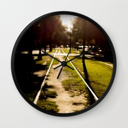 Neutral Ground Wall Clock