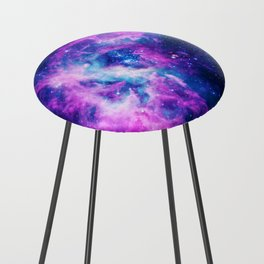 Dream Of Nebula Galaxy Counter Stool