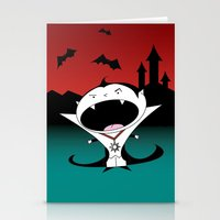 dracula Stationery Cards featuring Dracula by Primal Dream